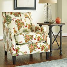 Printed Accent Chair Chairs Brie Printed Fabric Accent Chair Direct Ship Lattice Gray