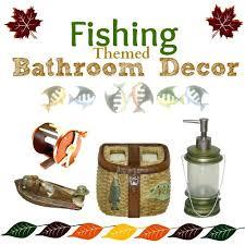 fly fishing bathroom decor vibrant fishing bathroom accessories fishing bathroom accessories
