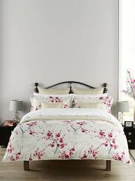 buy christy bed linen collection cherry osaka duvet set