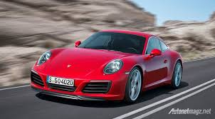 porsche carrera red porsche 911 carrera facelift red color autonetmagz