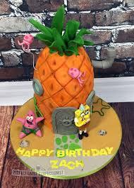the perfectionist confectionist zach spongebob birthday cake