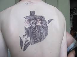 scarecrow pen tattoo by jsropp on deviantart