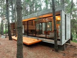 concrete block cabin designs cinder design modern interior ideas