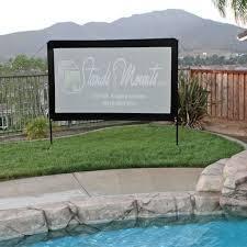 elite screens yard master portable outdoor projector screens