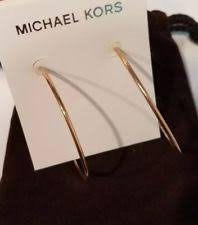 large gold hoop earrings michael kors large hoop earrings gold ss mkj4163 mkj4163791