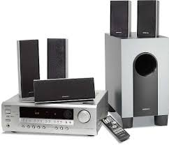 onkyo 7 1 home theater system onkyo ht sr600 silver home theater audio system with 5 speakers