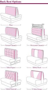 Custom Restaurant Booths Upholstered Booths Banquette U0026 Booth Back Rest Options Banquette Bench U0026 Booth