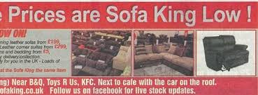 Sofa Kings Band Sofa King Advert Banned 8 Years After First Sparking Police