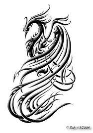 impressive phoenix tattoo designs
