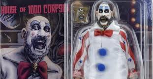 captain spaulding costume house of 1000 corpses captain spaulding retro figure in package