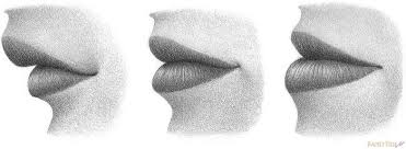 how to draw lips from the side rapidfireart