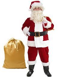 santa suit halco complete santa suit costume clothing