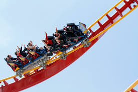 Superman Ride Six Flags Superman Coaster Takes Riders To New Heights