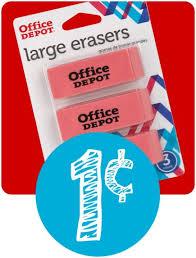black friday 2016 home depot slickdeals office depot max in store offer notebook 3 pack erasers