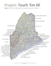 Maine County Map Homepage Airports And Aviation
