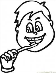 Brush Teeth Coloring Page Free Body Coloring Pages Brushing Teeth Coloring Pages