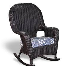 lovely wicker rocking chair for interior designing home ideas with