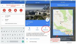 Usa Google Maps by How To Download Locations On Google Maps For Offline Usage