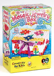 amazon com creativity for kids mosaic jewelry box toys u0026 games