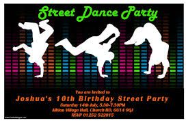 How To Design Invitation Card Dance Party Invitations Theruntime Com