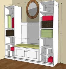 Free And Easy Diy Furniture Plans by 16 Best Mud Room Tutorials Images On Pinterest Easy Diy Projects