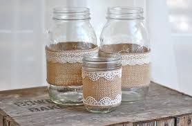 jar wedding decorations decorating with jars and burlap burlap jar jars