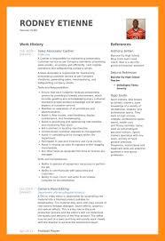 Football Resume 16 Sample Of A Footballers Cv Dtn Info