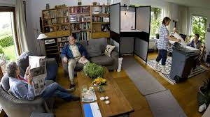 The Livingroom Candidate Yes There Is A Voting Booth In This Dutch Family U0027s Living Room