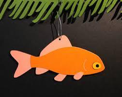 goldfish ornament etsy