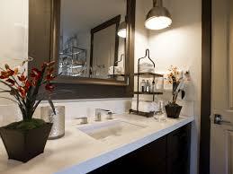 2017 modern bathroom accessories ideas 15184 bathroom ideas modern bathroom accessories for dark vanity and large wood framed mirror image 7 of 14