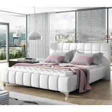 european king bed orren ellis carvey modern european kingsize upholstered platform