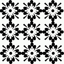 floral illustration black and white free stock photo public