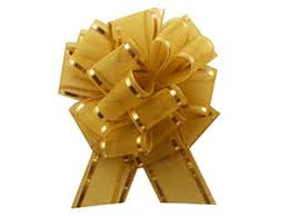 shrink wrap bags with pull bows bows metallic pull