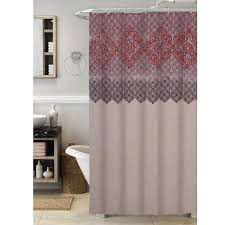 Shower Curtains Purple Colormate Global Shower Curtain