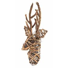 Grapevine Christmas Reindeer Decorations by Christmas Grapevine Deer Collection On Ebay