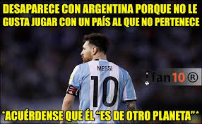 Memes De Messi - argentina y messi blanco de memes