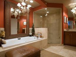 bathroom design cool spa bathroom design ideas casual red