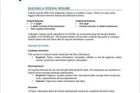 Federal Jobs Resume Examples by Federal Resumes Template Billybullock Us
