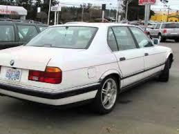 1990 bmw 7 series 1990 bmw 7 series lynnwood wa