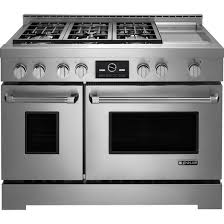 Jennaire Cooktop Kitchen Top Pro Style Gas Range With Griddle And Multimode