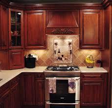 kitchen backsplash cherry cabinets kitchen backsplash cherry cabinets within kitchen tile backsplash