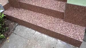 steinteppich balkon steinteppich kieselbeschichtung