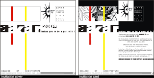 Invitation Card Dimensions Graphical Works As A Learner By Nishith Jariwala At Coroflot Com