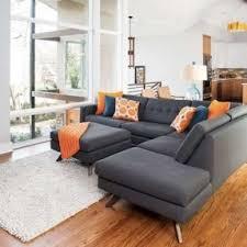 Sectional Gray Sofa Gray Sectional Sofa Foter