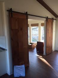 Cedar Barn Door Traditional Classic Homes Custom Features