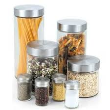 clear glass canisters for kitchen polystone glass canister set of 3 glass canisters and canister