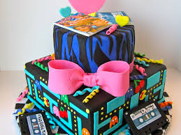 Awesome 80s Birthday Cake Cakecentral Com