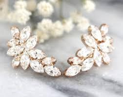 in earrings wedding earrings etsy