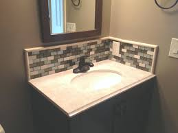 bathroom vanity backsplash ideas bathroom sink backsplash ideas lovely tile