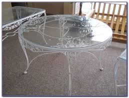 Antique Wrought Iron Patio Furniture by Plain White Iron Patio Furniture Metal Icamblog N In Decor